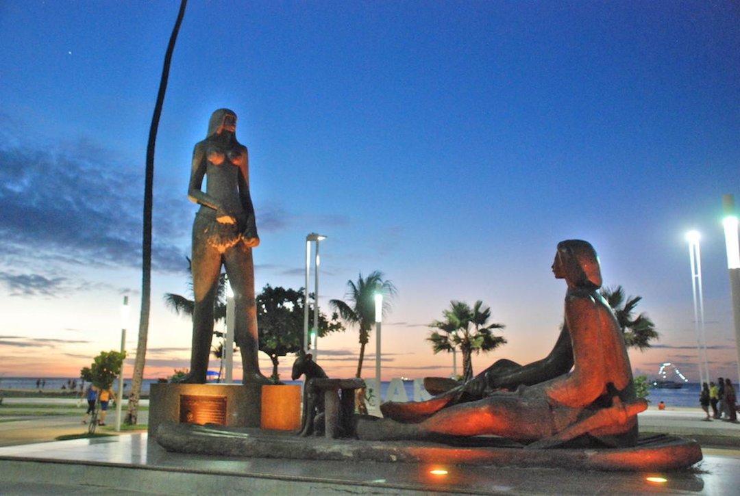 Estátua de Iracema Fortaleza